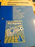 McDougal Littell Pre-Algebra: Differentiated Instruction Resources
