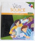 Texas Write Source Writing Grammar Teacher's Edition Grade 12