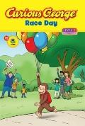 Curious George Race Day (CGTV Reader) (Getting Ready to Read, Level 1)