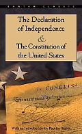 Declaration of Independence and the Constitution of the United States With Index