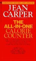 The All-In-One Calorie Counter - Jean Carper - Mass Market Paperback - REV