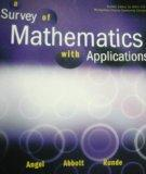 A Survey of Mathmatics with Applications Pearson Custom Publishing Edition for Montgomery Co...