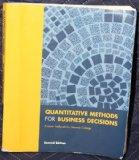 Quantitative Methods for Business Decisions Custom Textbook for Monroe College (Custom Textb...