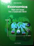 Economics: Ideas and Issues For a Sustainable World (Revised Second Edition) [Hard cover]