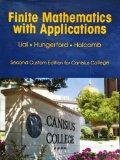Finite Mathematics with Applications in the Management, Natural, and Social Sciences (Canisi...