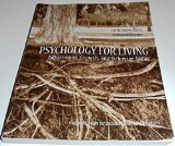 Psychology for Living, Adjustment, Growth and Behavior Today