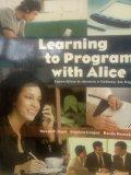Learning to Program with Alice (Custom Edition for University of California, San Diego)