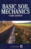 Basic Soil Mechanics - Roy Whitlow - Paperback - 3rd ed