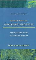 Analyzing Sentences An Introduction to English Syntax