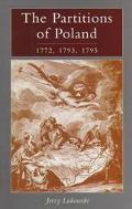 Partitions Poland 1772 - Jerzy Lukowski - Hardcover