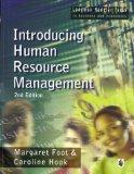 Introducing Human Resource Management (Longman Modular Texts in Business and Economics)