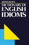 Longman Dictionary of English Idioms
