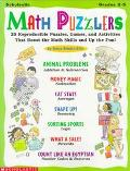 Math Puzzlers 25 Reproducible Puzzles, Games, and Activities That Boost the Math Skills and ...