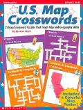 U.S. Map Crossword Puzzles 25 Map/Crossword Puzzles That Teach Map and Geography Skills