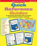 Quick Reference Guides: 10 Indispensable, Reproducible Guides for Students to Use for Refere...
