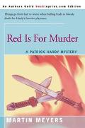 Red Is for Murder A Patrick Hardy Mystery