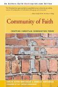 Community of Faith Crafting Christian Communities Today