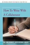 How To Write With A Collaborator
