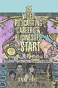 35 Video Podcasting Careers And Businesses to Start Step-by-step Guide for Home-grown Broadc...