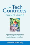 Tech Contracts Pocket Guide: Software and Services Agreements for Salespeople, Contract Mana...