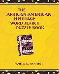 The African-American Heritage Word Search Puzzle Book