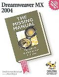 Dreamweaver Mx 2004 The Missing Manual