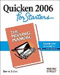 Quicken 2006 for Starters The Missing Manual