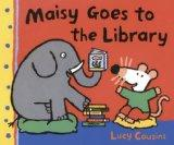 Maisy Goes To The Library (Turtleback School & Library Binding Edition) (Maisy First Experie...