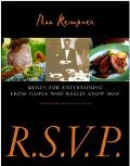 R.S.V.P Menus for Entertaining from People Who Really Know How