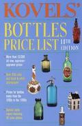 Kovel's Bottles Price List - Ralph Kovel - Paperback - 11TH
