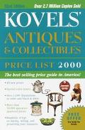 Kovels' Antiques and Collectibles Price List 2000, Vol. 1 - Ralph Kovel - Paperback - 32ND