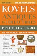 Kovels' Antiques and Collectibles Price List 2001 - Ralph Kovel - Paperback - 33RD