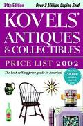 Kovels' Antiques and Collectibles Price List 2002, 34th Edition - Ralph Kovel - Paperback