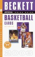 Official 2003 Price Guide to Basketball Cards