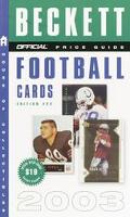 Official 2003 Price Guide to Football Cards