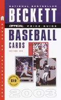 Official Price Guide to Baseball Cards 2003