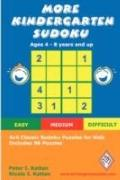 More Kindergarten Sudoku