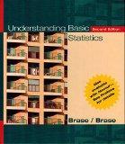 Understanding Basic Statistics Brief Hardcover, Second Edition