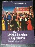 The African American Experience, Volume II: From Reconstruction