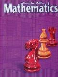 Houghton Mifflin Mathematics: Level 5, Student Edition (Houghton Mifflin Mathmatics)