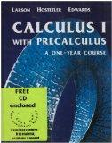 Calculus One With Precalculus And Learning Cd-rom