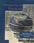 Introductory to Precalculus: Special Edition for University of Puerto Rico, Rio Piedras