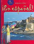 En Espanol Level 1A