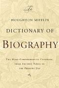 Houghton Mifflin Dictionary of Biography