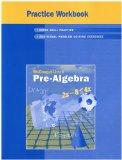 McDougal Littell Middle School Math: Practice Workbook (Student) Pre-Algebra