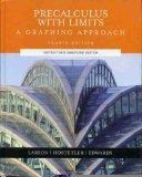 Pre-calculus With Limits: A Graphing Approach