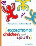 Exceptional Children And Youth Fourth Edition