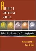 Reading Incomparative Politics Political Challenges And Changing Agendas