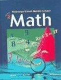 McDougal Littell Middle School Math: Student Edition Course 2 2005