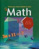 McDougal Littell Middle School Math: Student Edition Course 3 2005